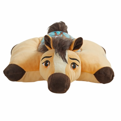 Pillow Pets Sleeptime Lite NBC Universal Spirit Plush Toy Perspective: front