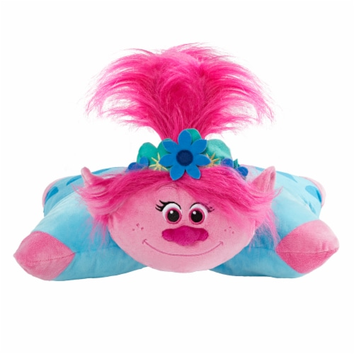 Pillow Pets NBC Universal Trolls Poppy Plush Toy Perspective: front