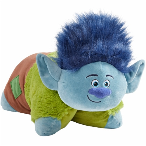 Pillow Pets NBC Universal Trolls Branch Plush Toy Perspective: front