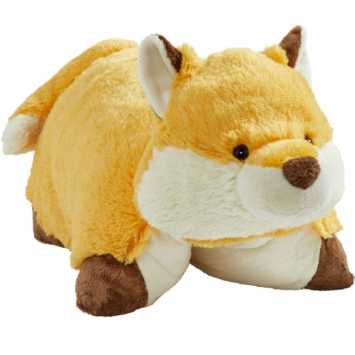 Pillow Pets Wild Fox Plush Toy Perspective: front
