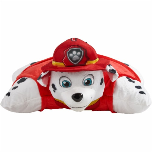 Pillow Pets Nickelodeon Paw Patrol Marshall & Chase Plush Slumber Pack Perspective: front
