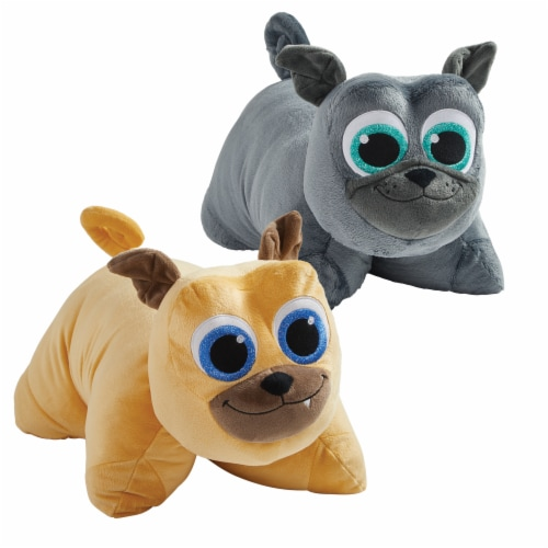 Pillow Pets Disney Puppy Dog Pals Bingo & Rolly Plush Combo Perspective: front