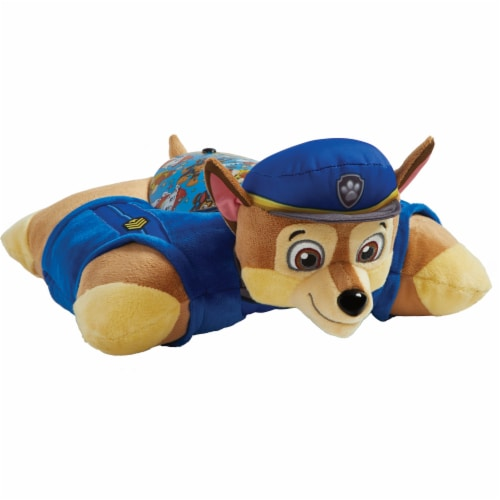 Pillow Pets Sleeptime Lite Nickelodeon Paw Patrol Chase Plush Toy Perspective: front
