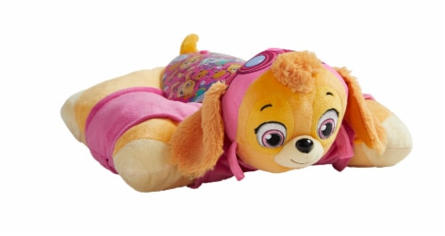 Pillow Pets Sleeptime Lite Nickelodeon Paw Patrol Skye Plush Toy Perspective: front