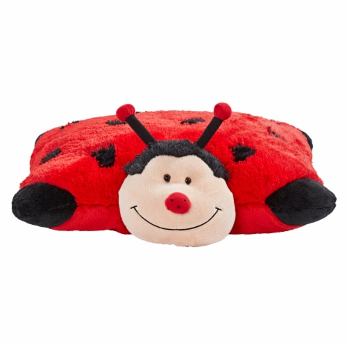 Pillow Pets Original Ladybug Plush Toy Perspective: front