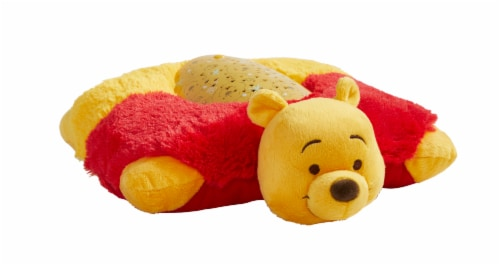 Pillow Pets Sleeptime Lite Disney Winnie the Pooh Plush Toy Perspective: front