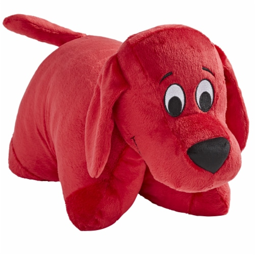 Pillow Pets Scholastic Corp. Clifford The Big Red Dog Plush Toy Perspective: front