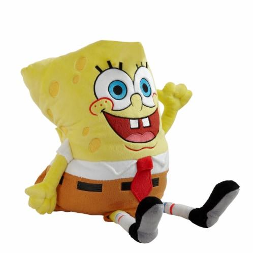 Pillow Pets Nickelodeon SpongeBob SquarePants Plush Toy Perspective: front