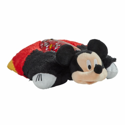 Pillow Pets Sleeptime Lite Disney Mickey Mouse Plush Toy Perspective: front