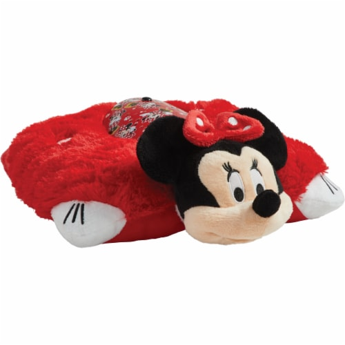Pillow Pets Sleeptime Lite Disney Minnie Mouse Plush Toy Perspective: front
