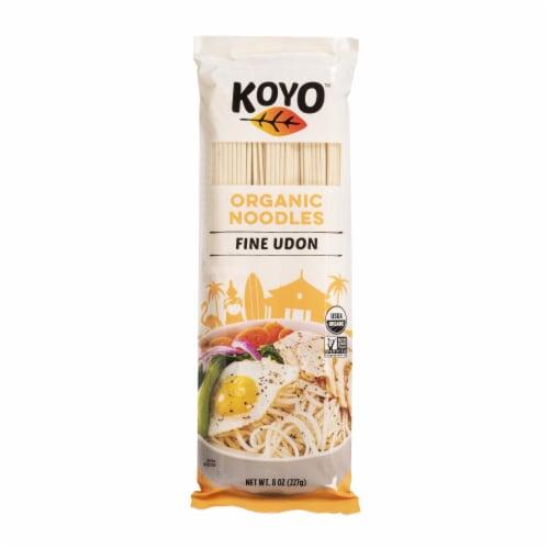 Koyo Organic Fine Udon Asian Pasta Perspective: front