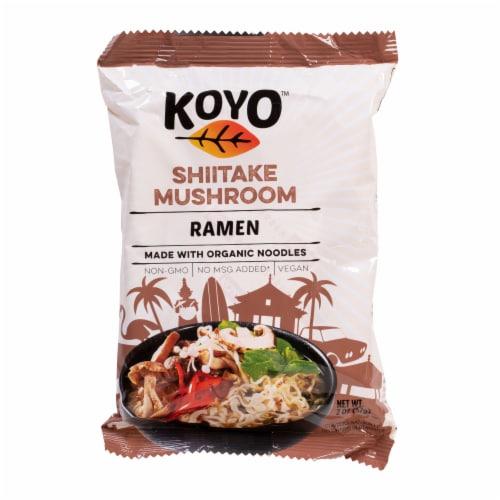 Koyo Mushroom Ramen Perspective: front