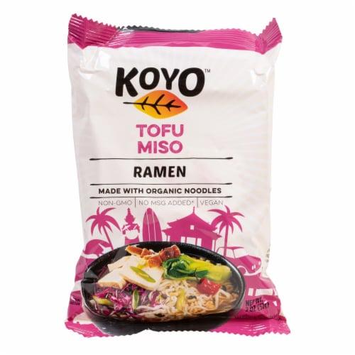Koyo Tofu & Miso Ramen with Organic Noodles Perspective: front