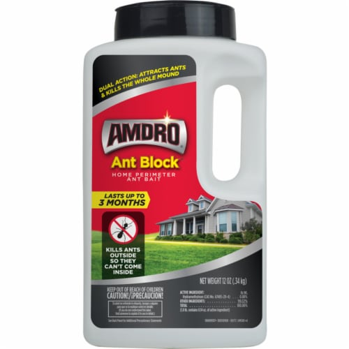 Amdro Ant Block Ant Bait 12 oz. - Case Of: 1; Each Pack Qty: 1; Perspective: front