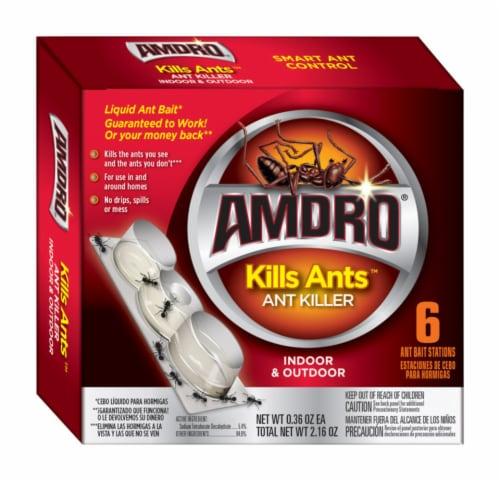 Amdro Kills Ants Ant Bait 2.15 oz. Perspective: front