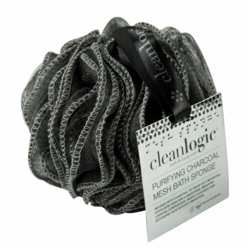 Cleanlogic - Charcoal Black Brush - 1 CT Perspective: front