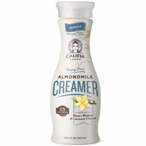 Califia Farms Vanilla Almond Milk Creamer Perspective: front