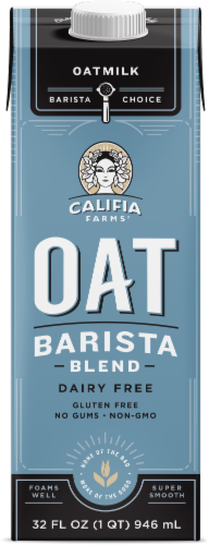 Califia Farms Oat Barista Blend Oatmilk Perspective: front