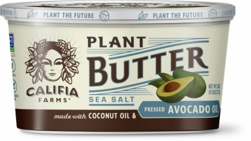 Califa Farms Pressed Avocado Oil Sea Salt Plant Butter Perspective: front