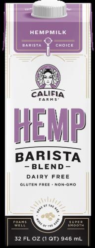 Califia Farms Hemp Barista Blend Perspective: front