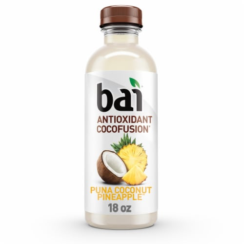 Bai Cocofusion Puna Coconut Pineapple Antioxidant Infused Beverage Perspective: front