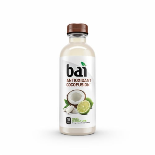 Bai Cocofusion Andes Coconut Lime Antioxidant Beverage Perspective: front