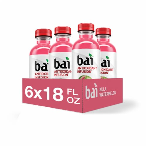Bai Kula Watermelon Antioxidant Infused Beverages 6 Count Perspective: front