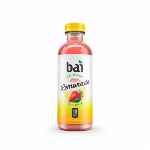 Bai Sao Paulo Strawberry Lemonade Antioxidant Infused Beverage Perspective: front