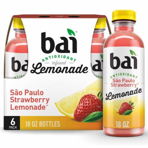 Bai Strawberry Lemonade Antioxidant Infused Beverage Perspective: front