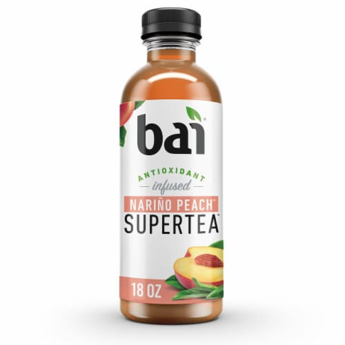 Bai Supertea Narino Peach Tea Antioxidant Infused Tea Perspective: front