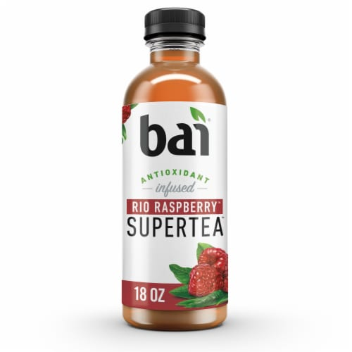Bai Rio Raspberry Antioxidant Infused Supertea Perspective: front