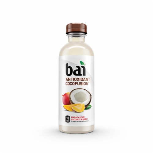 Bai Cocofusion Madagascar Coconut Mango Antioxidant Beverage Perspective: front