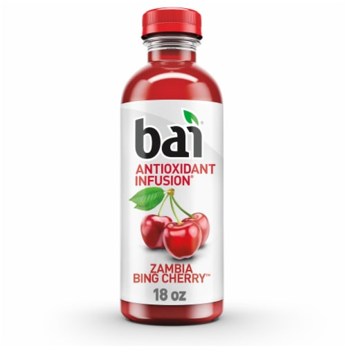 Bai Zambia Bing Cherry Beverage Perspective: front