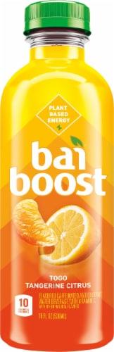 Bai Boost Togo Tangerine Citrus Antioxidant Infused Beverage Perspective: front