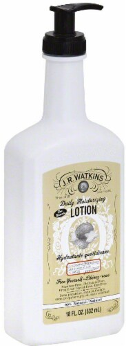 J.R. Watkins Coconut Daily Moisturizing Hand & Body Lotion Perspective: front