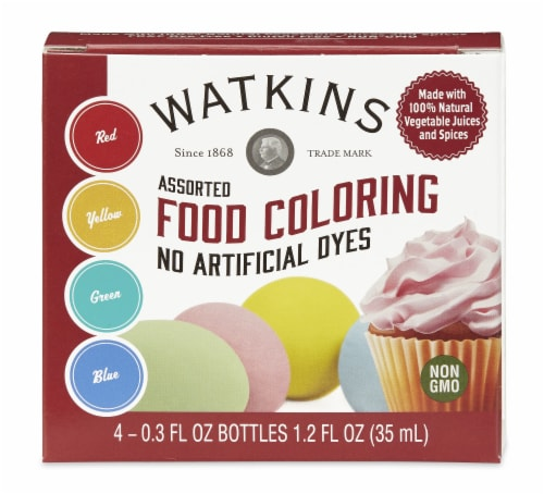 Watkins Natural Food Color 4-Pack Perspective: front