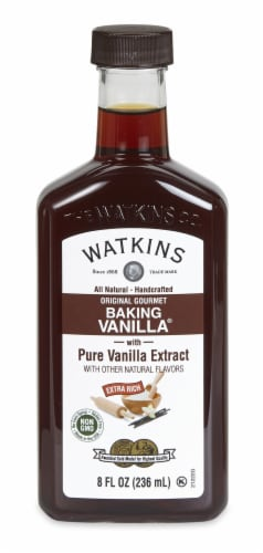 Watkins All Natural Original Gourmet Baking Vanilla Extract Perspective: front