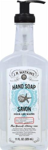 J.R. Watkins Ocean Breeze Liquid Hand Soap Perspective: front
