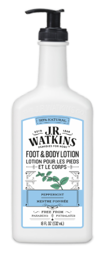 J.R. Watkins Daily Moisturizing Peppermint Lotion Perspective: front