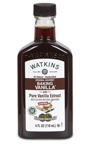 Watkins All Natural Original Gourmet Baking Vanilla Extract Perspective: front