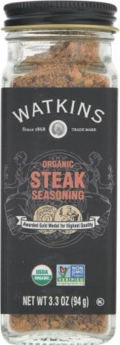 Watkins Organic Steak Seasoning Perspective: front