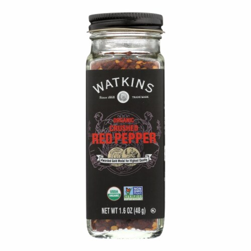 Watkins - Red Pepper Crushed - 1 Each - 1.6 OZ - Pack of 3 Perspective: front