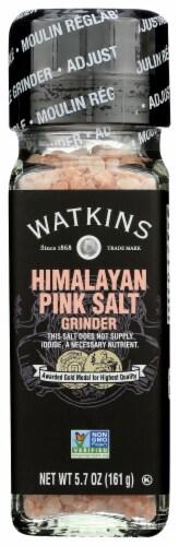 Watkins Pink Himalayan Salt Grinder Perspective: front