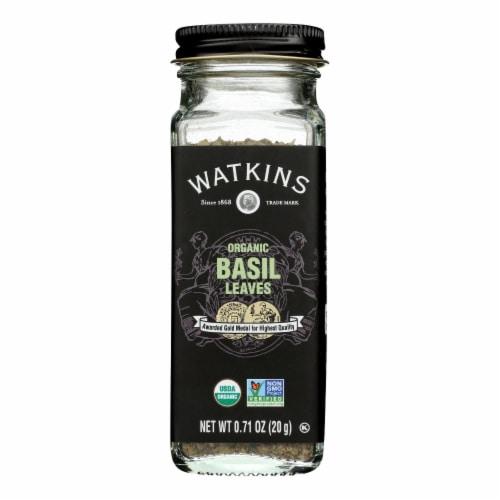 Watkins - Basil Leaves - 1 Each - 0.71 OZ Perspective: front