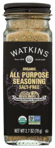Watkins Organic All Purpose Seasoning Perspective: front