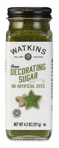 Watkins Green Decorating Sugar Perspective: front