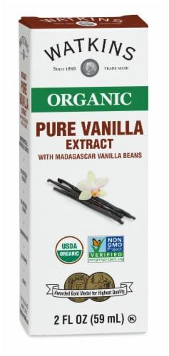 Watkins Organic Pure Vanilla Extract Perspective: front
