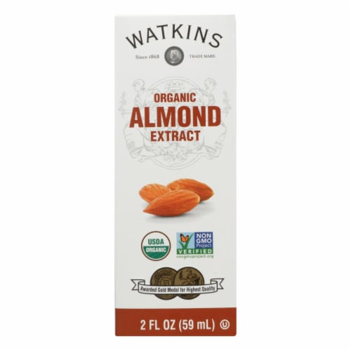 Watkins - Extract Almond - 1 Each - 2 FZ - Pack of 3 Perspective: front