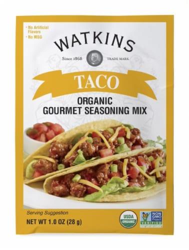 Watkins Gourmet Taco Seasoning Mix Perspective: front