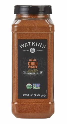 Watkins Organic Chili Powder Perspective: front